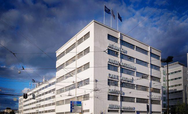 Meiran toimitalo Helsingin Vallilassa.