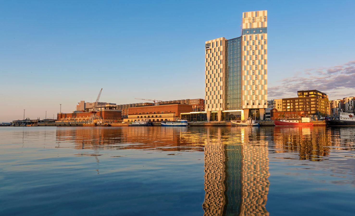 Näkymä Jätkäsaareen. Kuva Helsinki Marketing Yiping Feng ja Ling Ouyang.