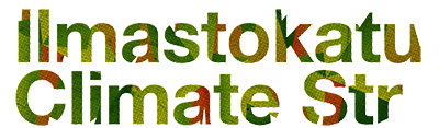 Ilmastokatu-hankkeen logo.