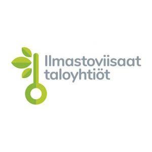 Ilmastoviisaat taloyhtiöt -hankkeen logo.